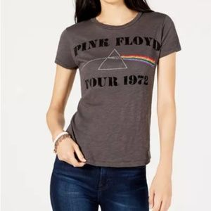 Lucky Brand Pink Floyd Concert Band Graphic Tee